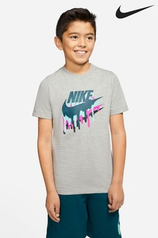 Nike Black Melted Logo T-Shirt