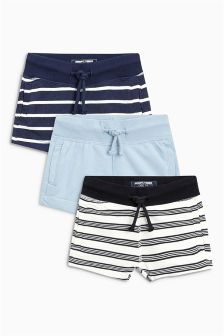Stripe Shorts Three Pack (3mths-6yrs)