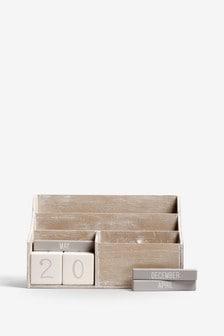 Letter Rack Calendar