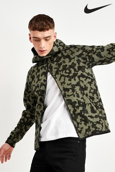 Nike Tech Fleece Camo Zip Through Hoody