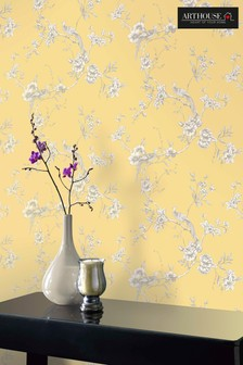 Chinoise Floral Wallpaper by Arthouse