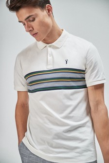 Chest Stripe Regular Fit Polo