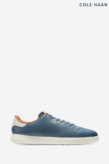Cole Haan Blue Grandpro Tennis Lace-Up Trainers