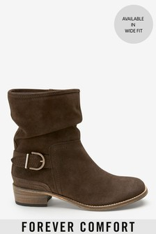 e6e30bf3b96 Slouch Ankle Boots