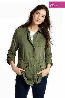 Joules Khaki Cassidy Safari Jacket