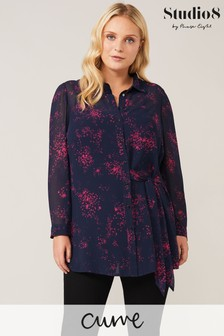 Studio 8 Blue Lucy Star Print Shirt