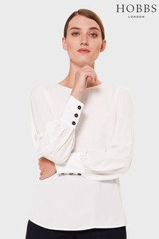 Hobbs Cream Kate Blouse