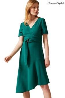 Phase Eight Green Evadine Dress