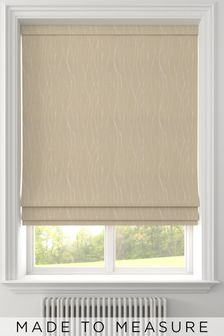 Legna Brass Natural Made To Measure Roman Blind