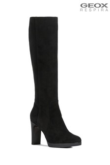 Geox Women's Annya Black Boot
