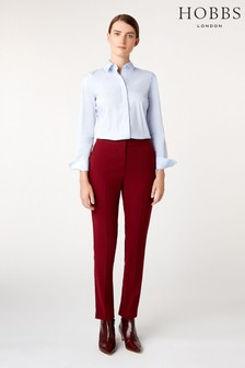 Hobbs Red Tamsin Trousers