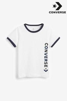 Converse Boys Vintage Logo Ringer T-Shirt