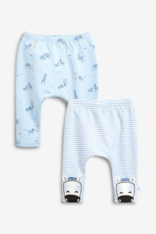 Animal Leggings Two Pack (0mths-2yrs)