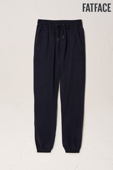FatFace Blue Lyme TENCEL™ Cuffed Trousers