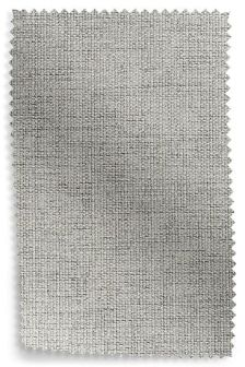 Textured Weave Light Grey Upholstery Fabric Sample