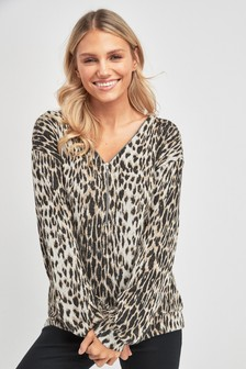 6514f13fae6a Womens Animal Print Sweat Tops | Next Official Site