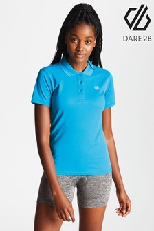 Dare 2b Blue Set Forth Lightweight Polo