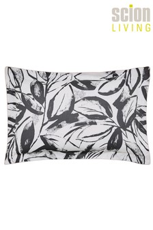 Scion Padua Abstract Leaf Cotton Pillowcase