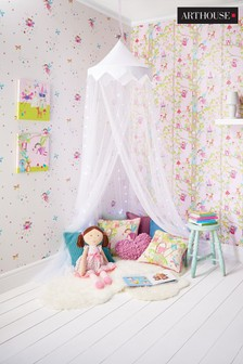 Arthouse Woodland Fairies Wallpaper