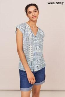 White Stuff Rae Organic Cotton Vest