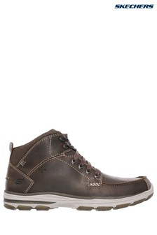 Skechers® Mid Moc Toe Lace-Up Boot