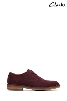 Clarks Red Clarkdale Moon Shoes