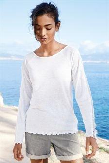 Linen Blend T-Shirt