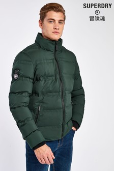 Superdry Green Padded Jacket