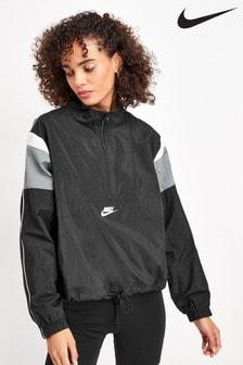Nike Heritage Black Woven Jacket
