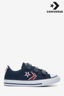 Converse Star Replay Navy Trainers