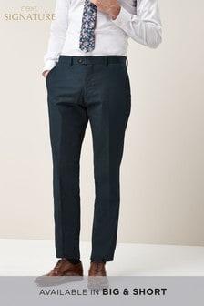 Коллекционный костюм из смесового хлопка: брюки