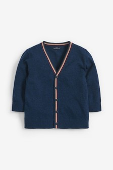 Tipped Button Through Cardigan (3mths-7yrs)