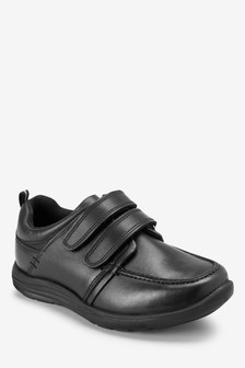 Two Strap Sporty Leather Shoes (Older)
