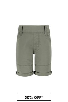 Timberland Baby Green Cotton Shorts