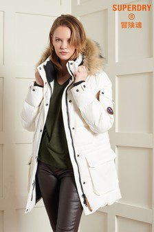 Superdry Premium Down Boyfriend Coat