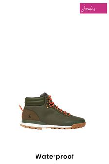 Joules Green Chedworth Waterproof Hiker Boots