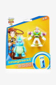 Toy Story 4 Buzz Lightyear Bunny Figure 2 Pack
