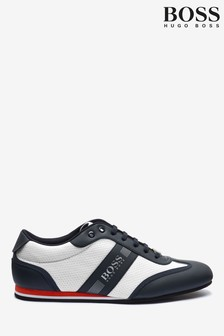 BOSS Blue Lighter Lowp Lace-Up Trainers