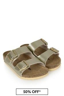 Birkenstock Gold Arizona Sandals