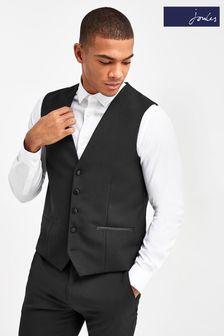 Joules Slim Fit Tuxedo Waistcoat