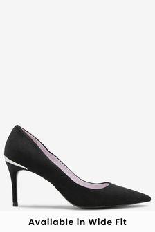 Туфли-лодочки на среднем каблуке