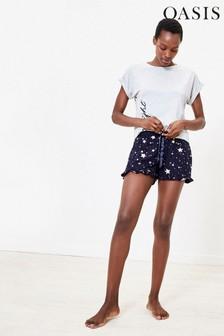 Oasis Blue Star Foil Shorts