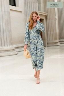 Morris & Co. at Next Volume Sleeve Midi Dress