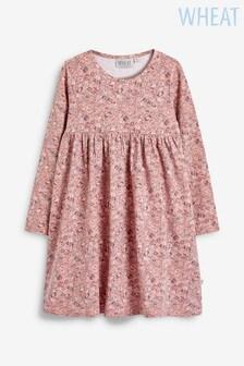 Wheat Brown Otilde Dress
