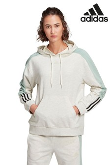adidas Linear Colourblock Pullover Hoody