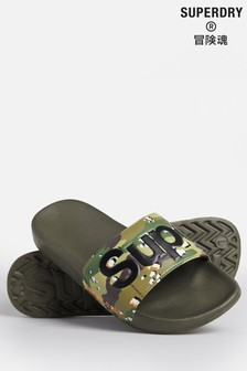 Superdry Camouflage Classic Pool Sliders