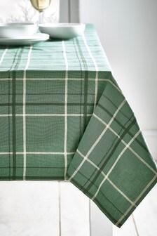 Check Table Cloth