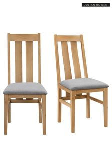 Cotswold Set Of 2 Chairs By Julian Bowen