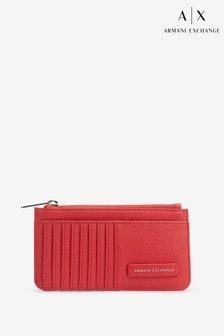Armani Exchange Red Cardholder
