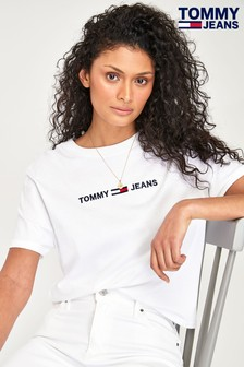 Tommy Jeans Modern Linear T-Shirt mit Logo